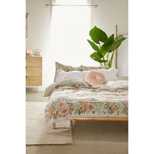 Urban Outfitters Lovise Floral Duvet Cover Queen